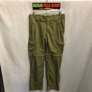 Green Convertible Columbia Pants